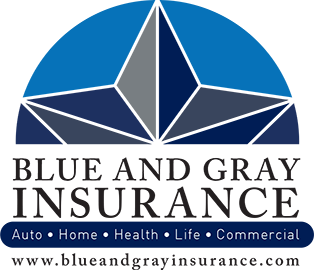 Blue and Gray Insurance